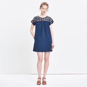 Madewell La Novia Embroidered dress M medium